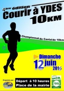 SORTIE CLUB - Courir à Ydes (15) 10 km ou relais 2 x 5 km @ Voie Verte   Ydes   Auvergne Rhône-Alpes   France
