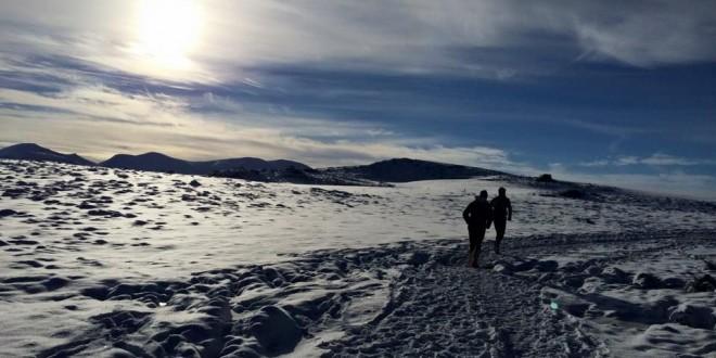 Du soleil et des soleils au Trail hivernal du Sancy (18/1/2015)