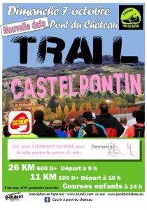 sortie club Trail Castelpontin 11 km et 26 km @ COSEC Pont du Chateau | Pont-du-Château | Auvergne-Rhône-Alpes | France