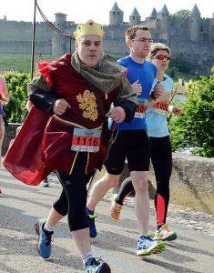 CARCASSONNE marathon et semi @ porte Narbonnaise | Carcassonne | Languedoc-Roussillon Midi-Pyrénées | France