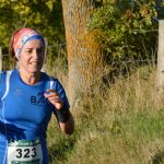 Martine au trail de Coren