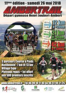 Ambertrail @ Ambert gymnase Joubert  | Ambert | Auvergne-Rhône-Alpes | France