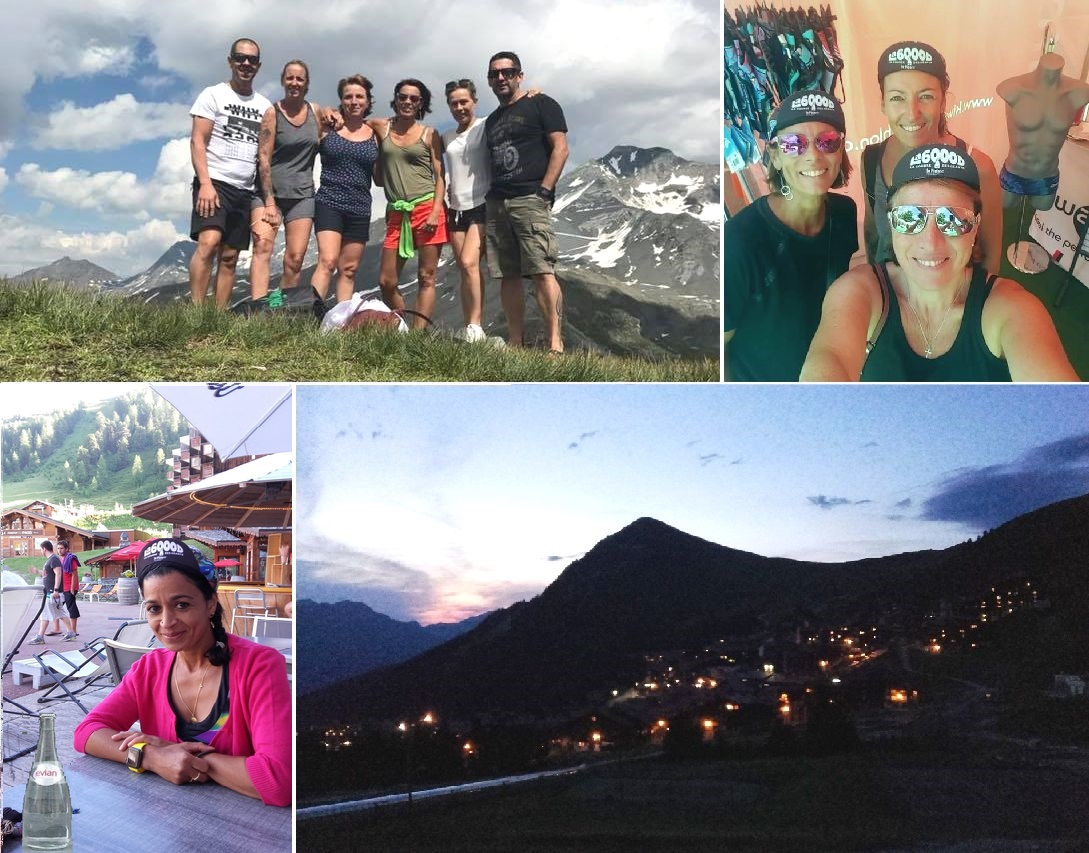 veillée d'armes le vendredi : Stéphane et Stéphanie, Angela, Sandrine, Sylvie et Thierry - Linda ajoute du liquide de refroidissement