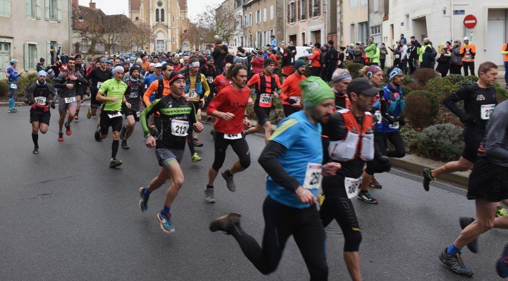 un départ commun pour les épreuves de 20 et 30 km