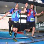 Victor Da Silva et Jean-Christophe Robert à l'arrivée du Marathon Volcanique