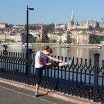 Sylvie Dief : après la course, les étirements