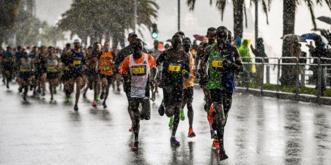20 km et Marathon Nice-Cannes, avec Amélie – 3/11/2019