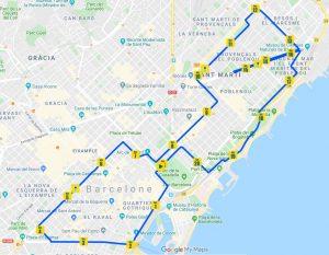 semi-marathon de Barcelone @ Barcelona