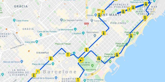 semi-marathon de Barcelone